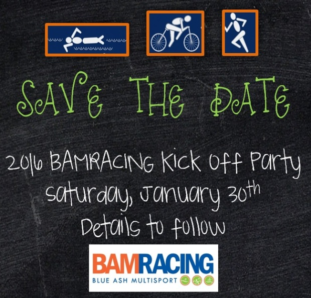 kick off party save the date blue ash multisport
