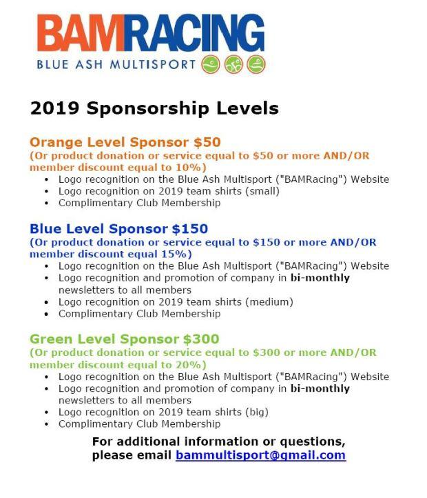 2019 sponsors